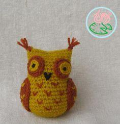 Mini Owl Amigurumi crochet pattern (Free Amigurumi ...