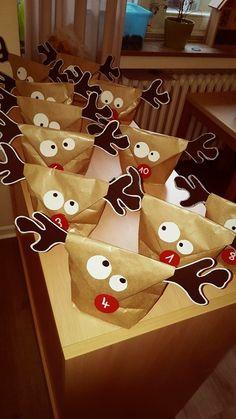 Le renne sacchettino non solo come calendario dell'avvento