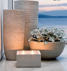 Home Decorating from Inside Avenue, modern planters