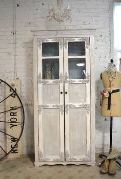 shabby chic cabinet - Google Search