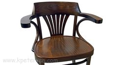 New York Cafe Chair Front View Seat and Arm Detail Wood Restaurant Chairs, Woods Restaurant, Bistro Restaurant, Pub Chairs, Bentwood Chairs, Armchair, Arms, Art Deco, York