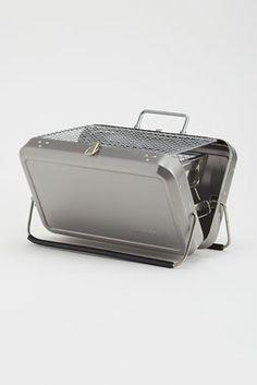 Portable BBQ Suitcase - Kikkerland - Kitchen : JackThreads