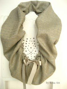 byRosaArt - Gyapjú szövet sál, kendő.  meska.hu #wool #scarf Fashion, Moda, Fashion Styles, Fashion Illustrations