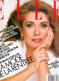 French ELLE cover Catherine Deneuve