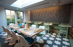 Ask Italian restaurant in Beckenham by Turnerbates Design & Architecture