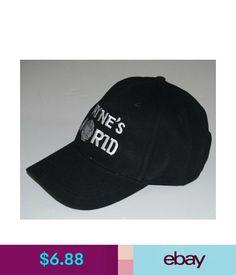 8105b30be462b Hats Wayne s World Trucker Hat Black Mesh Cap Funny Halloween Costume  Basketball Cap  ebay