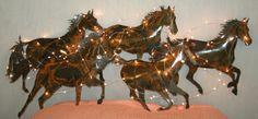 Custom horse scupture