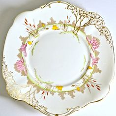 Art Deco Cake Plate by Standard China Chapmans by FeltersCottage, £18.00