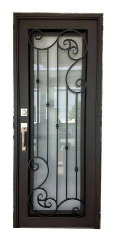 Front Gate Design, Door Gate Design, House Front Design, Home Window Grill Design, Grill Door Design, House Main Door, Iron Front Door, Wrought Iron Doors, United Nations