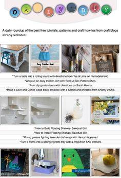 134 Best The Daily DIY images | Diy, Craft tutorials, Crafts