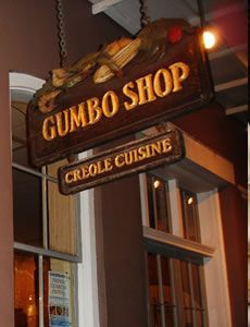 The Gumbo Shop in New Orleans is the place to go for great, authentic gumbo.  Forget Bubba Gump chains!