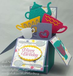 Nicole Wilson Independent Stampin' Up!® Demonstrator: 2016 OCCASIONS & SALE-A-BRATION BLOG HOP