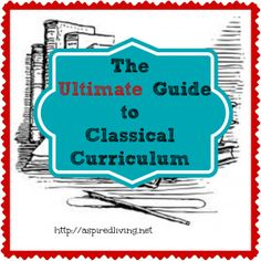 This is an exhaustive (and exhausting) list of Classical Curriculum Providers, Co-ops, Continuing Education & Bloggers. We plan to update it periodically so this will remain the ULTIMATE destination for Classical Curriculum. #ihsnet