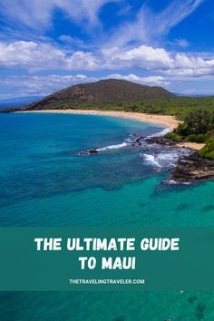 Welcome to the Ultimate Guide to Maui! Maui has so much to offer, from the stunning beach to windswept palms and luscious jungles. It's no wonder that Conde Naste travelers have voted it the Best Island in the US for over 20 years… | Maui travel guide | the ultimate travel guide to Maui | Maui travel guides | how to save money in Maui | what to do in Maui | where to go in Maui | budget guide to Maui | #mauiguide #mauitravelguide | Hawaii travel guide | budget travel in Hawaii Hawaii Travel Guide, Maui Travel, Travel Usa, Travel Destinations, Travel Advice, Travel Guides, Travel Tips, Trip To Maui, Hawaii Vacation