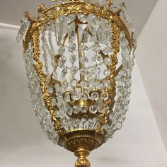 New to our Etsy shop Imperial Crystal Chandelier! #Murano Handblown base! Stunning piece! Pair available! Smiles from #TheEnglishSisters