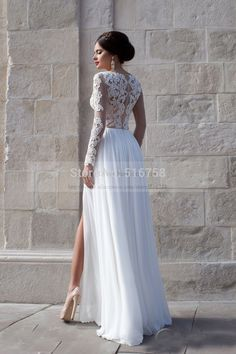 Charming Ideas Long Sleeve Low Back Wedding Dress 60 Perfect Low