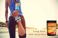 Energy Boost. 100% Natural Blend  #fatburner #hintwellness #energytea