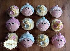 Baby Cupcakes. #Babycupcakes #Babyshower Cupcakes