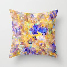 camouflage world Throw Pillow by Miguel Á. Núñez I. - $20.00