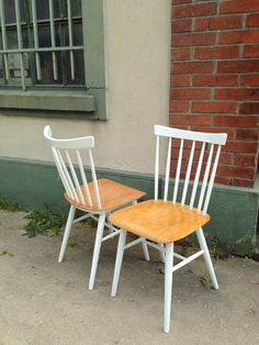 Chaise bistrot vintage tapiovaara fanett style scandinave