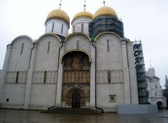 Dormition Cathedral, Moscow Kremlin.
