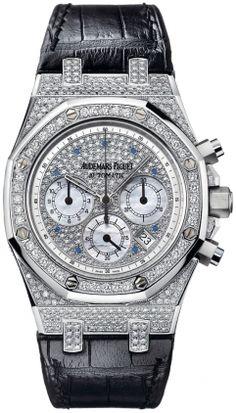Audemars Piguet Royal Oak Chrono Diamond Men's Watch 26068BC.ZZ.D002CR.01