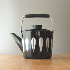 Vintage Cathrineholm Lotus Black Tea Kettle by DipperVintage, $215.00