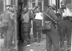 British Forces - wounded British & Canadian troops at Arnhem