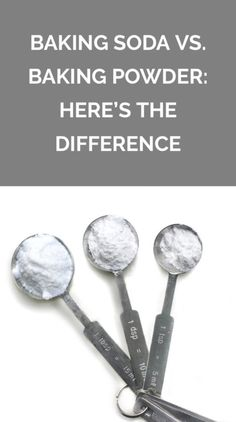 Here's the Difference Between Baking Soda and Baking Powder | The two ingredients are easily confused—here's what you need to know about each.