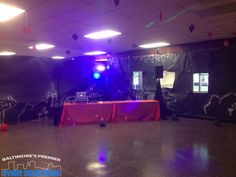 DJ services offered for weddings, private parties, and school functions