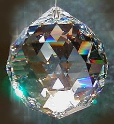 Having difficulty sleeping try hanging a Swarovski crystal sphere in a specific place with a special empowerment as a cure.