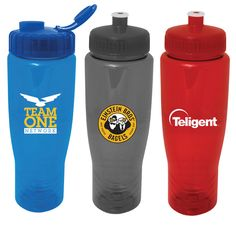 10-15 day service - The Translucent Antora Water Bottle:A translucent 28 ounce sports fitness bottle made with PET plastic and a 63mm wide mouth lid. This bottle is made in the USA from FDA approved plastic and is Prop 65 compliant. Includes a wrap imprint.