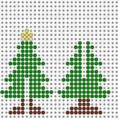 Christmas tree perler bead pattern                                                                                                                                                                                 More