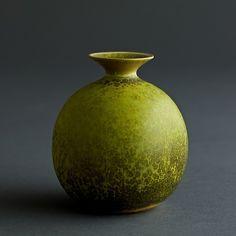 Carl-Harry Stålhane, ceramic vase, ca.1950s by Rörstrand, Sweden