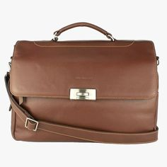 Handcrafted from our most supple leather, this elegant and spacious travel bag will hold all the accoutrements of modern life. Men's Collection, Briefcase, Summer 2016, Travel Bags, Brown Leather, Elegant, Spring, Modern, Life