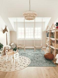 Playroom Design, Playroom Decor, Kids Room Design, Blue Playroom, Playroom Paint Colors, Colorful Playroom, Modern Playroom, Playroom Storage, Playroom Ideas