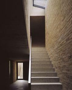 #CarusoStJohn #BrickHouse #Stairs #Shadows #Skylight #Voids #Brick