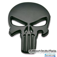THE Punisher Body Badge 3D Skull Sticker Metal Auto Emblem For Infiniti The Whole Body Q40Q50 QX80 FX35 G25 Q70 Qx60 Car-styling