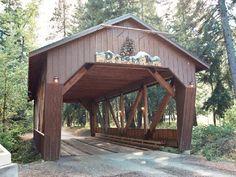 Double K Covered Bridge, Kittitas County, Washington