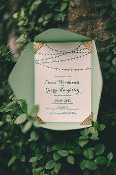 Wicked Bride Stationery: Wicked Bride on Style Me Pretty: Willowdale Estate