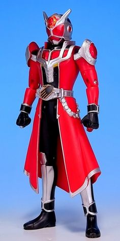 Kamen Rider Wizard's Flame Dragon form.