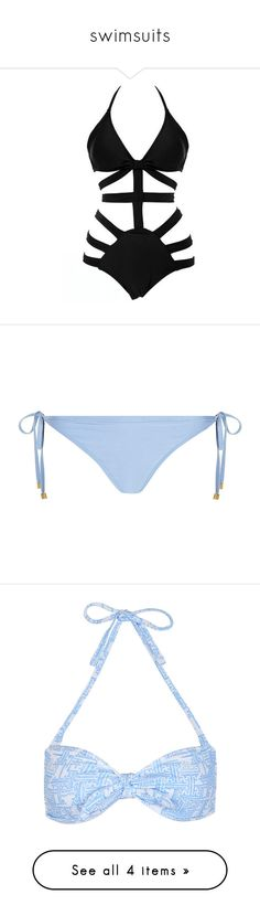 """""""swimsuits"""" by roxouu ❤ liked on Polyvore featuring Swimsuits, swimwear, one-piece swimsuits, bathing suit, beach, bikini, one piece, swimsuit, strappy one piece swimsuit and one piece swim suit"""