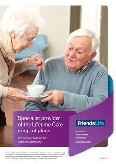 Friends Life Lifetime Care advert