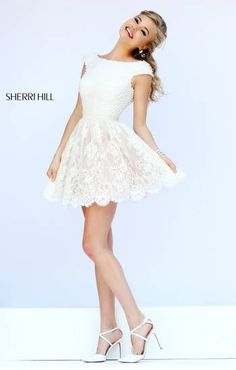 Love the pearl bodice and lace skirt!