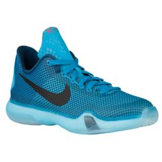 Nike Kobe X Elite - Boys' Grade School - Bryant, Kobe - Blue Lagoon/Black/Vapor Green/Clearwater