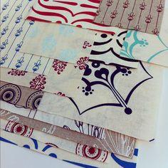 Handprinted Fabric by Yardage Design