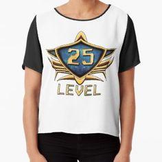'Badge Level Chiffon Top by Andreea Raducan Chiffon Tops, Badge, Fitness Models, Sleeves, T Shirt, How To Wear, Stuff To Buy, Black, Fashion