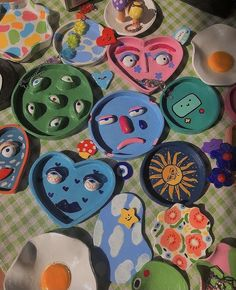Diy Clay, Clay Crafts, Arts And Crafts, Keramik Design, Clay Art Projects, Cute Clay, Diy Décoration, Clay Creations, Pottery Art