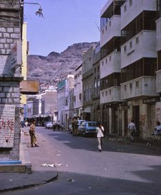 36 Color Photos Capture Everyday Life of Aden, Yemen in the Living In England, Arabian Sea, Red Sea, Old City, Aesthetic Art, Vintage Photographs, Countryside, 1960s, Tourism