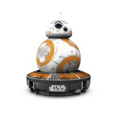 SPHERO APP-ENABLED DROID WITH FORCE BAND! The wrist band is compatible and can be bought separately. Say hello to the best (and cutest) robotic toy on the market and get excited about robotics and tech.